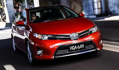 Toyota Corolla, secondo modello più venduto del 2012