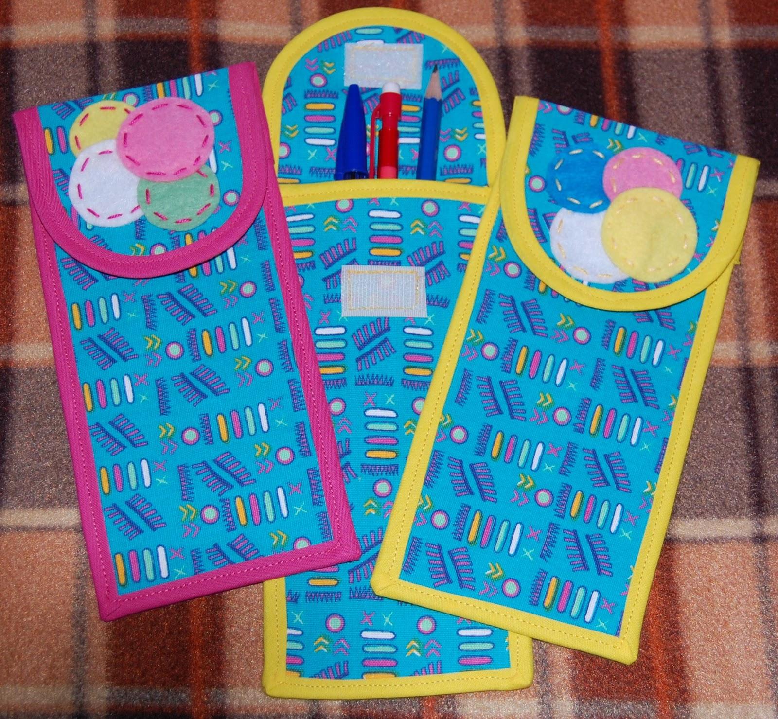 Bolsa Para Lapis Em Tecido : Loja da minhoca porta l?pis