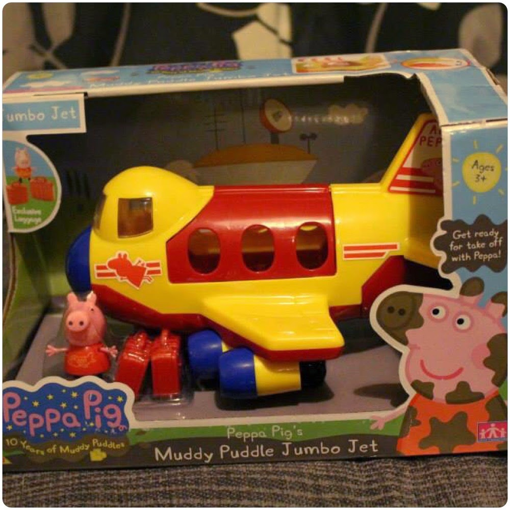 Peppa Pig Jumbo Jet Toy Review