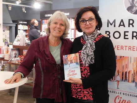 Meet & greet Marelle Boersma