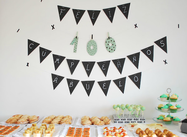 Fiesta de cumpleanos for Diy decoracion cumpleanos