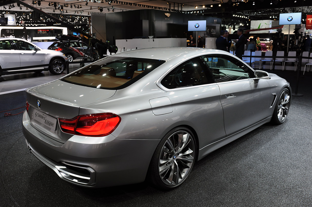 automotiveblogz bmw concept 4 series coupe detroit 2013 photos. Black Bedroom Furniture Sets. Home Design Ideas