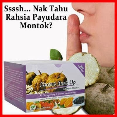 SECRET BUST UP- RM110 SEKOTAK