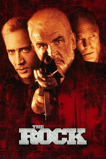 Film - The Rock - Starring Nicholas Cage, Sean Connery, and Ed Harris (released in 1996)