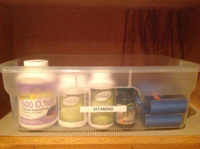 medicine organized