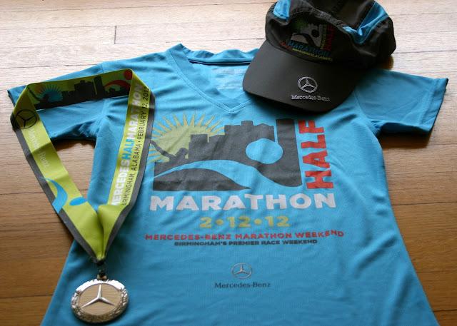 Yo momma runs mercedes half marathon february 12 2012 for Mercedes benz marathon birmingham