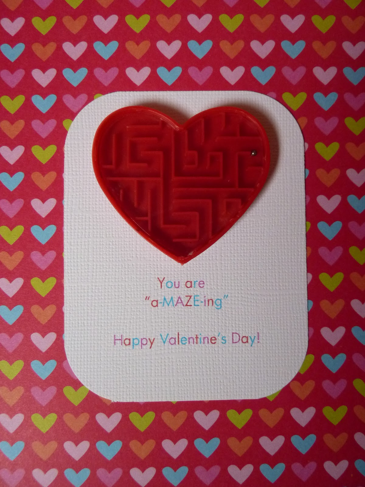 ... to be bored: You are a-MAZE-ing: free Valentine Printable note cards