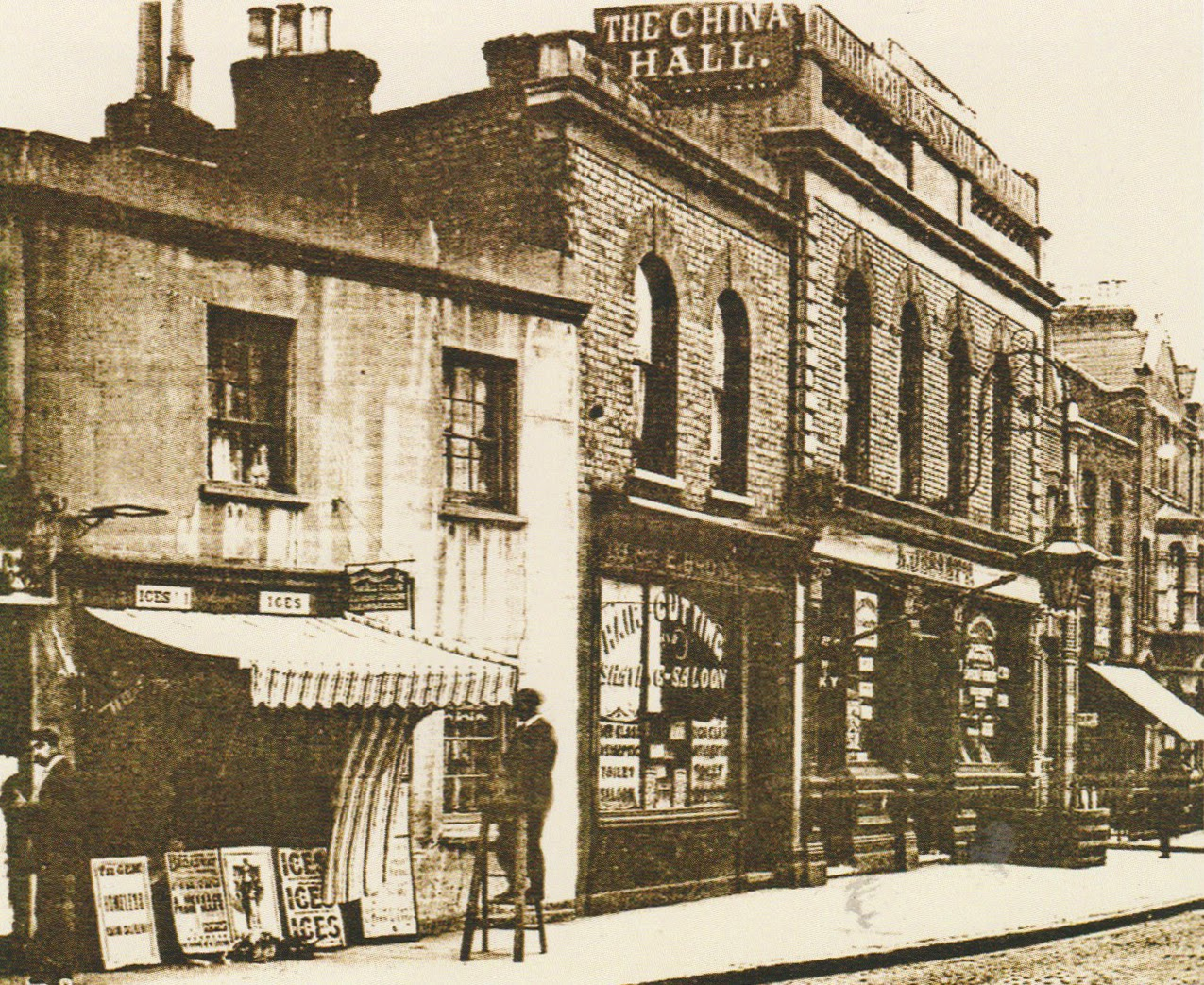 A Rotherhithe Blog: The China Hall, Rotherhithe