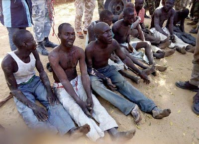 9 Notorious Boko Haram Suspects Arrested By Nigerian Army (Photos)