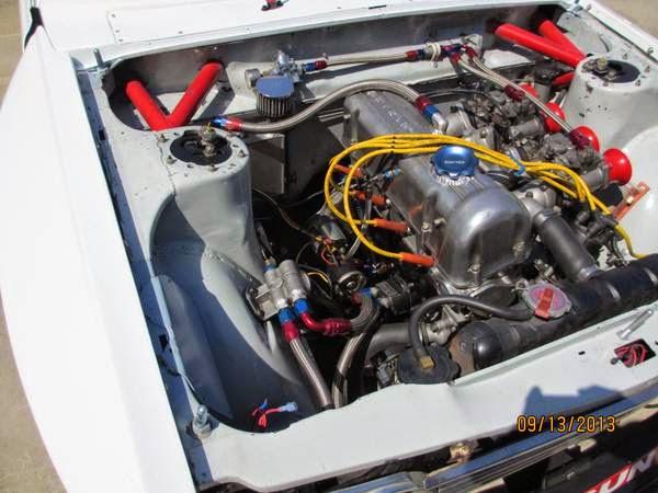 Race Car Datsun Sedan Auto Restorationice