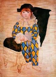 Picasso suhijo de arlequin
