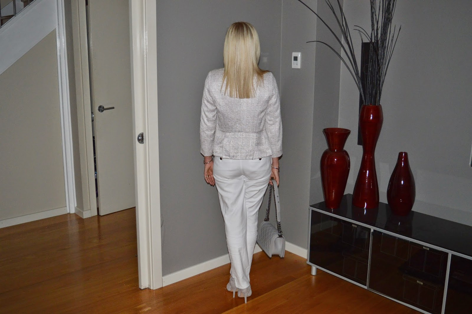 White Pants Outfit