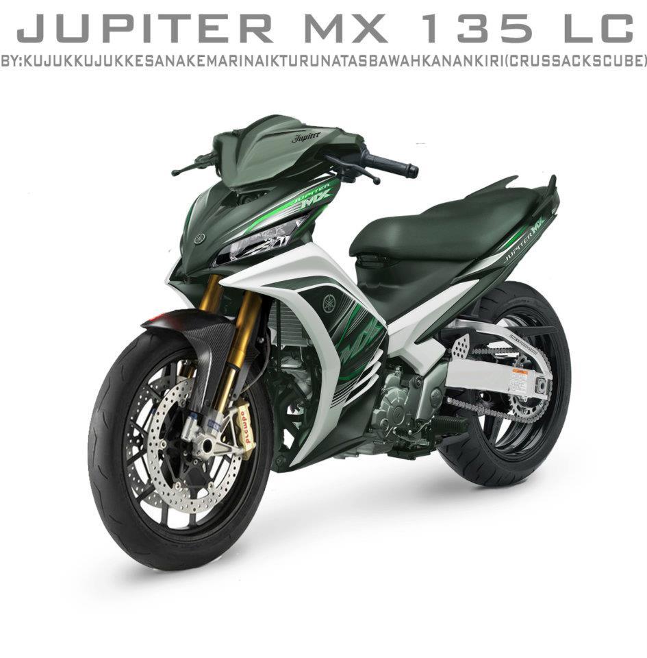Modifikasi Motor Jupiter MOTOR STYLE
