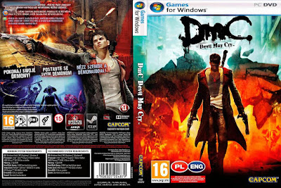 Jogo DmC Devil May Cry PC DVD Capa