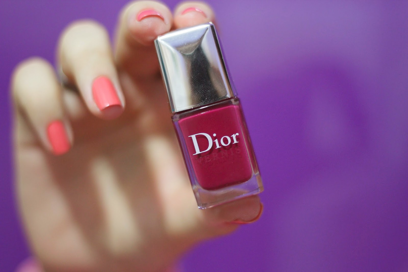 Violet Graphique Graphic Berry - Dior.