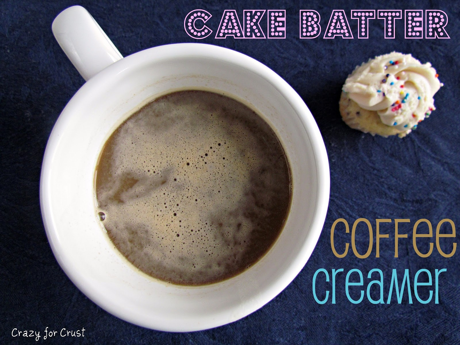 Cake Batter Coffee Creamer