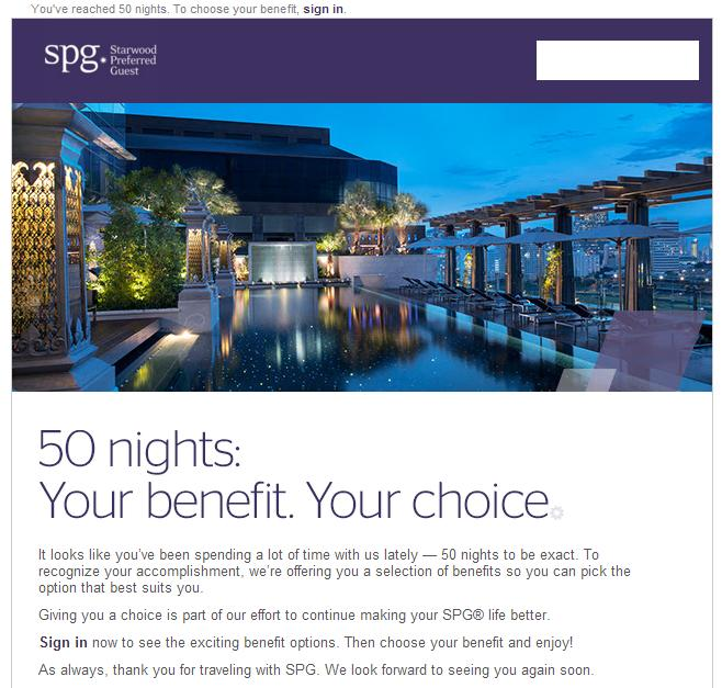 what benefits may starwood hotels derive