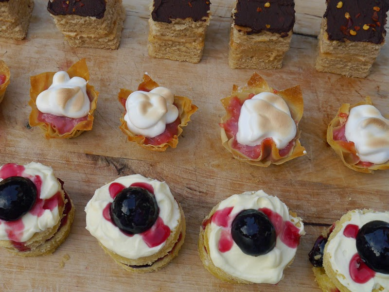 Autumn Petit Fours Recipes