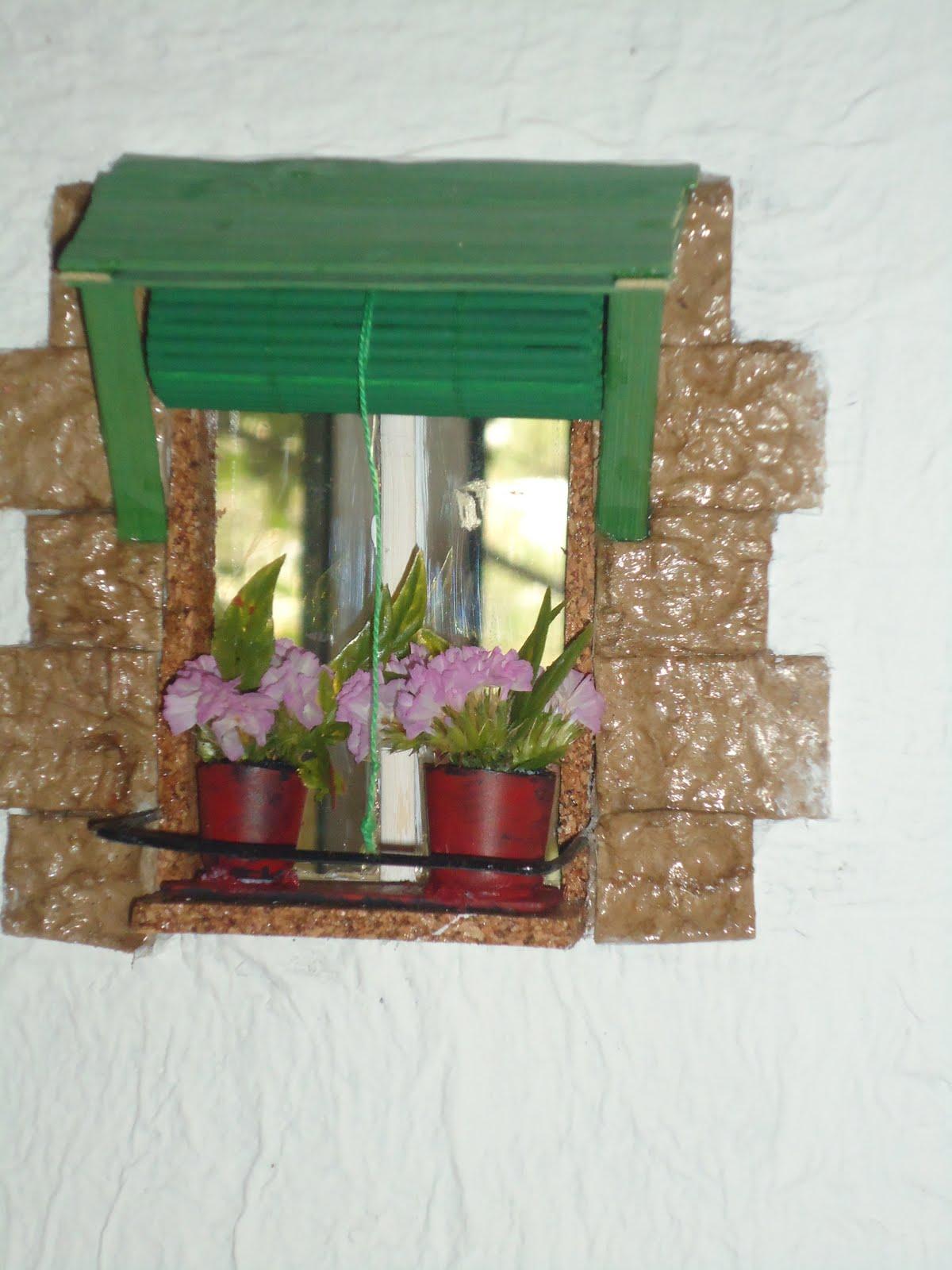 Casas de mu ecas decoracion de fachada ventanas y puerta - Decoracion de casas de munecas ...
