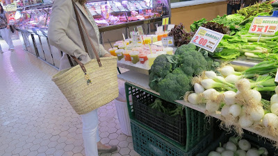 photo solamante french basket in the market