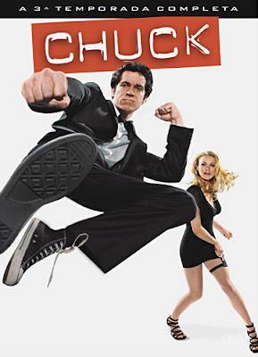 Chuck - 3ª Temporada Completa - DVDRip Dublado