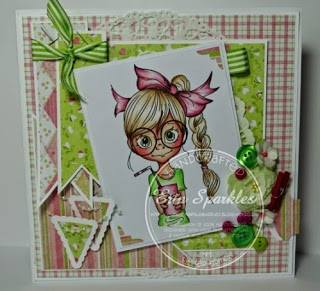 Elfie's Sparkle & Dust Blog candy