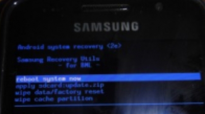 Samsung Galaxy Note  into Recovery Mode