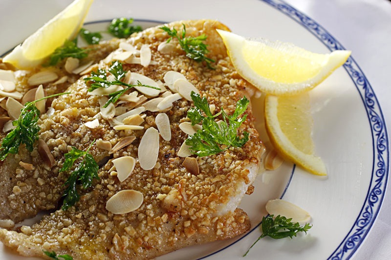 ... French Fridays with Dorie: Back in the Game with Almond Sole Meunière