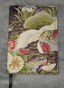 Diferentes fotos de capa em tecido japonês para agenda. Fecha com mola. (img )
