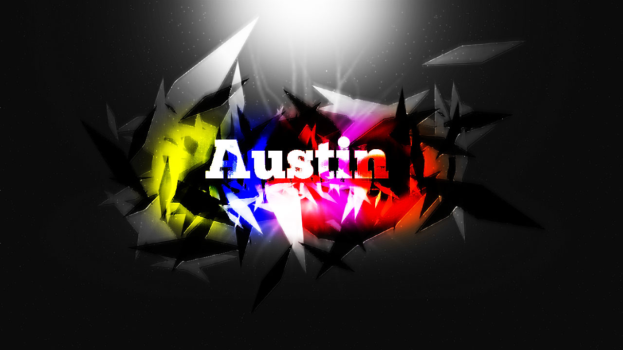 Photoshop text tutorials austin graphis this was a photoshop text advanced tutorial on youtube i followed the directions and thought it came out to be a fantastic result baditri Image collections