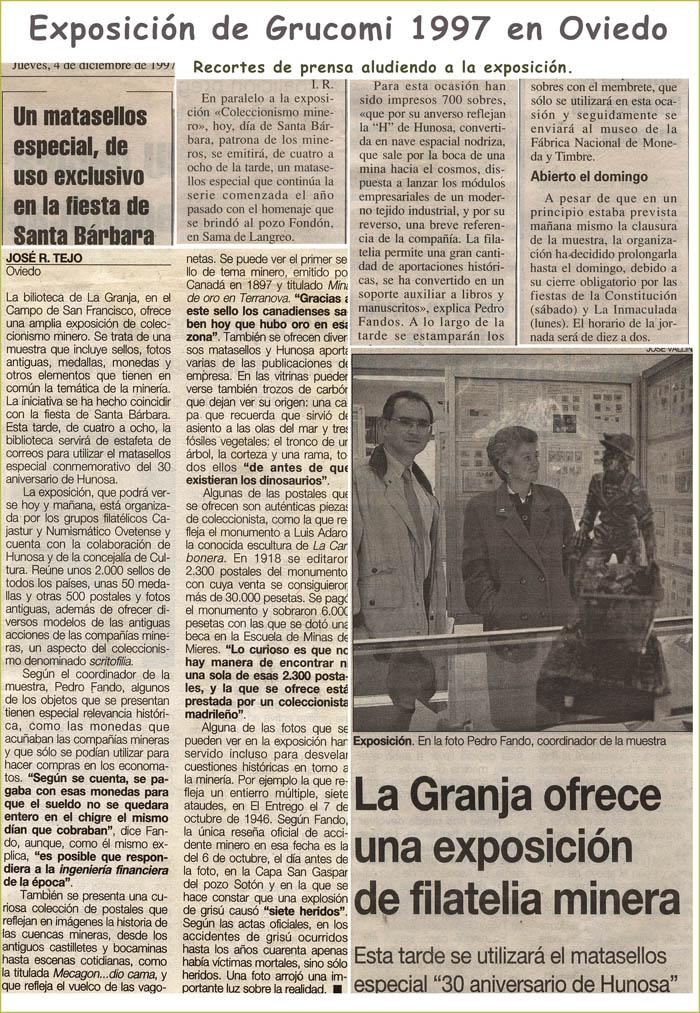 Noticias de Grucomi en prensa