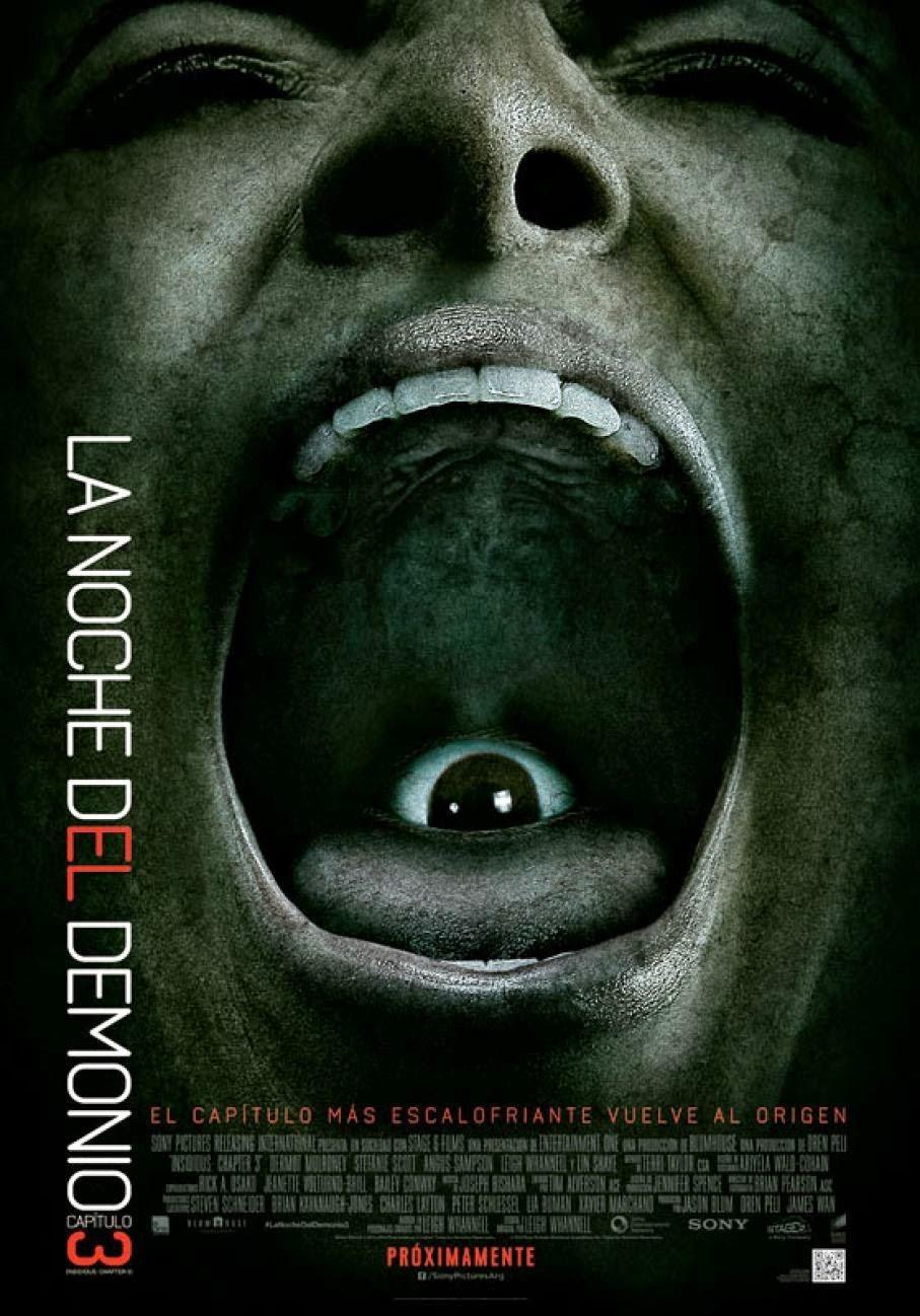 La Noche Del Demonio 3 (2015) [Dvdrip] [Latino] [1 Link]