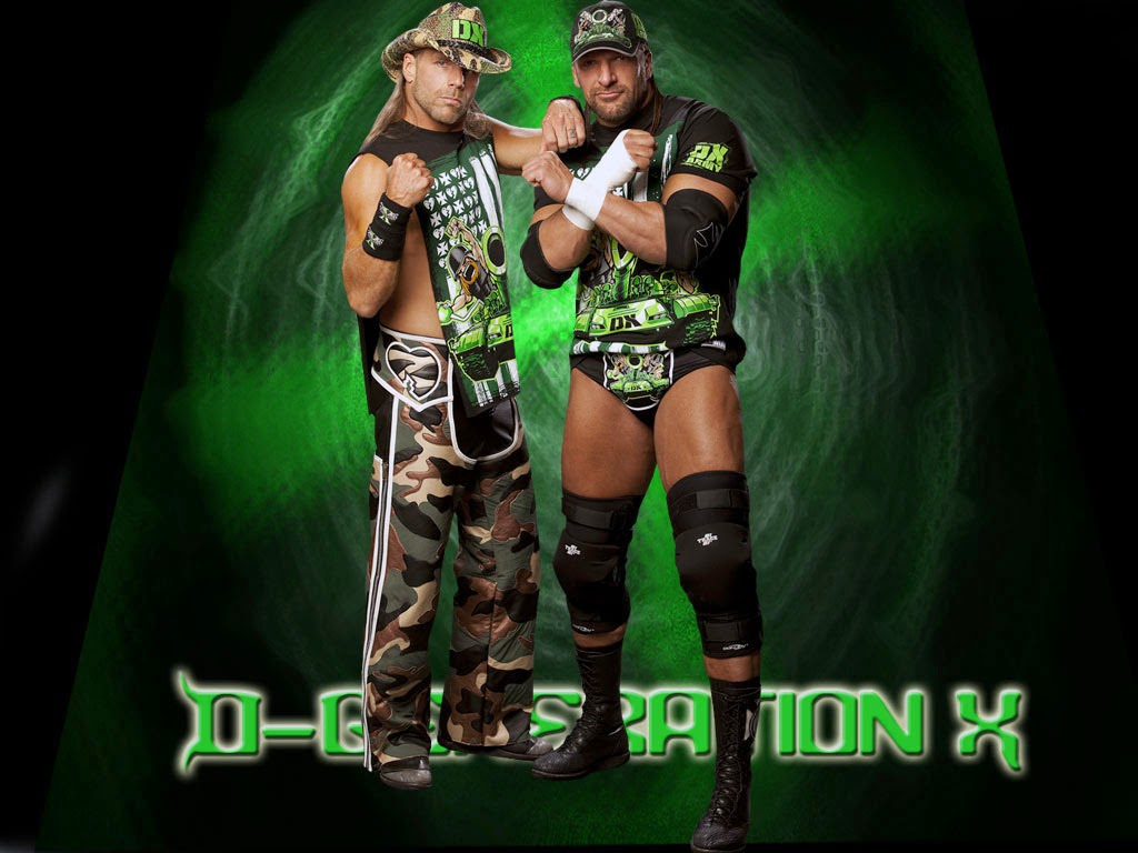 Team DX - D-Generation X (Triple H & Shawn Michaels)