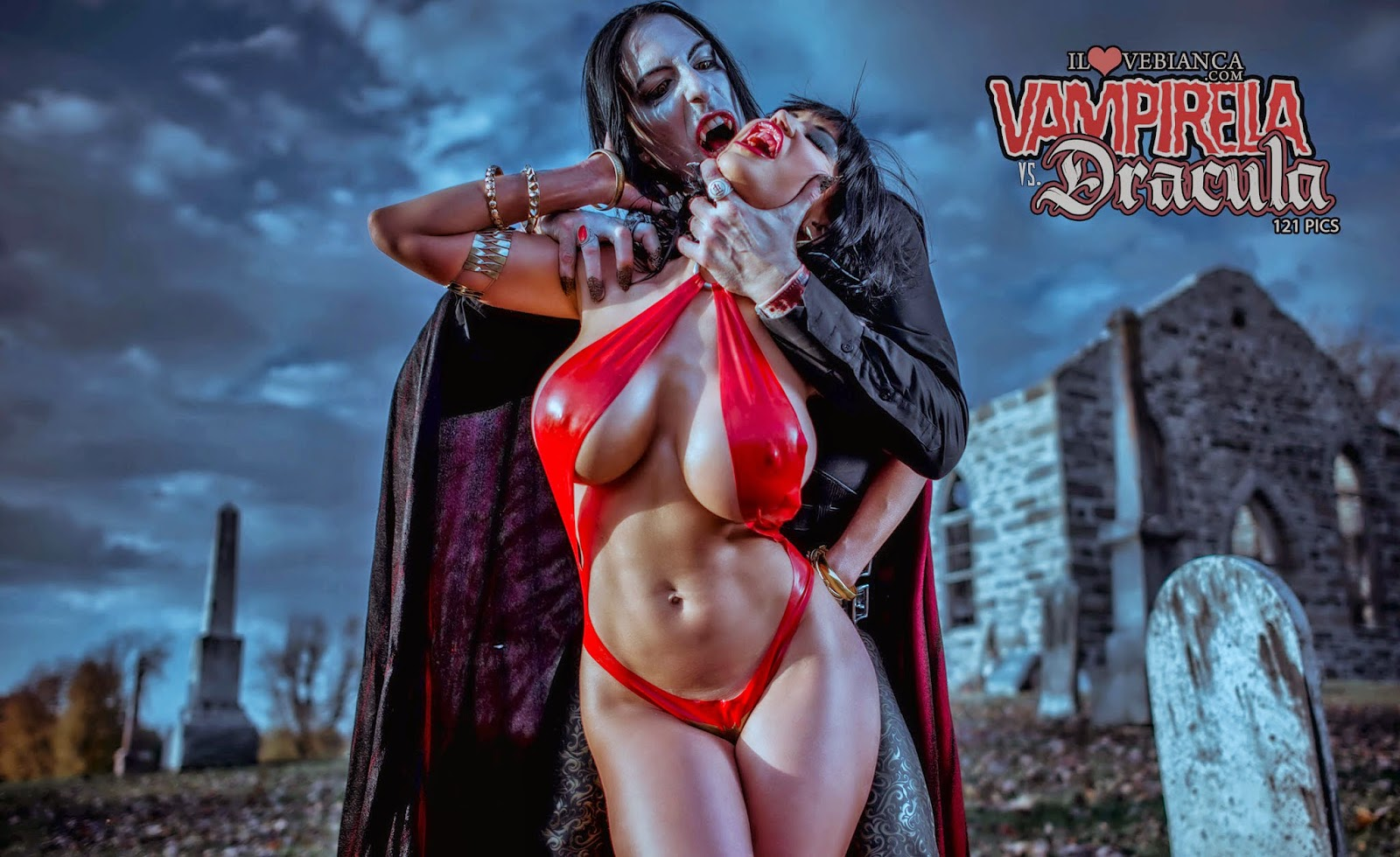 Vampirella 3d sex nude video