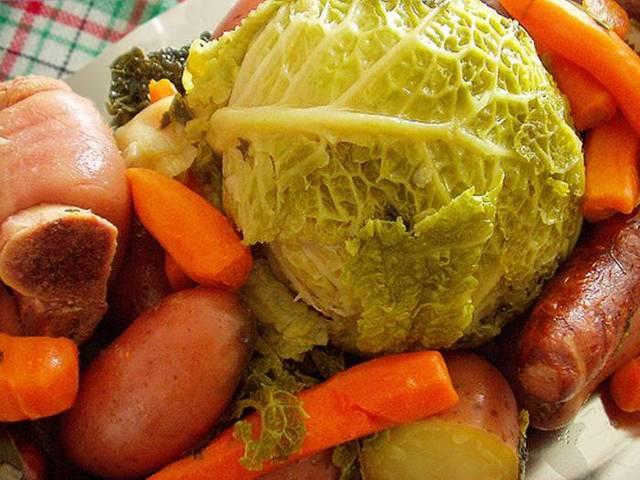 la traditionnelle pot 233 e auvergnate blogs de cuisine