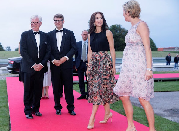 Crown Princess Mary of Denmark attended the INDEX Award Ceremony 2015 in Elsinore