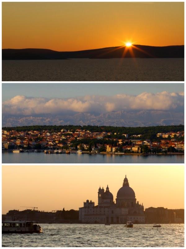 Fleurcoquet unterwegs, Adria, Venedig, Korfu, Triest, Dubrovnik, Bari, Zadar