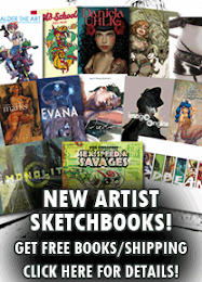 NEW ARTIST SKETCHBOOKS!