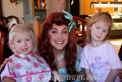 meet Ariel at Epcot's Akershus, Disney Princess breakfast