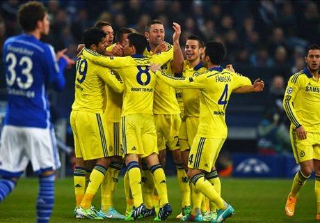 Chelsea Pesta Gol Ke Gawang Schalke 0-4