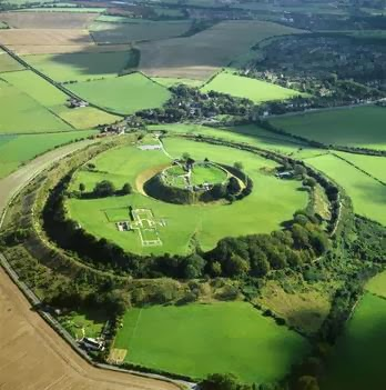 Old sarum - air view