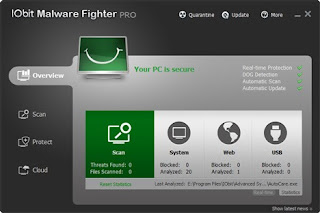 Download Free Software IObit Malware Fighter Pro 2.0.0.204