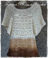 Blusa croche File