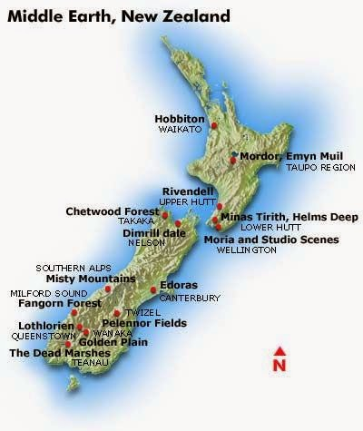 South Island Lor D Of The Ring