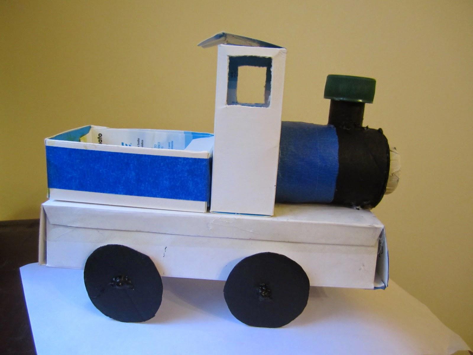 juguetes con materiales reciclados \