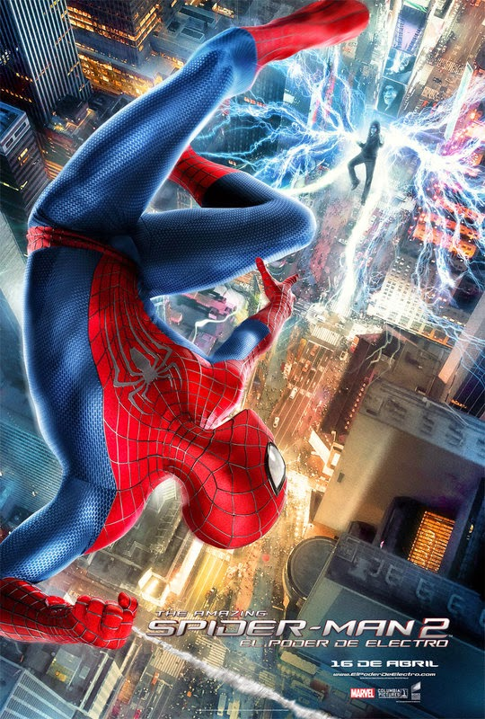 Spider-Man 2: El poder de Electro(2014) [BR-SCREENER 720p][Castellano][Acción]