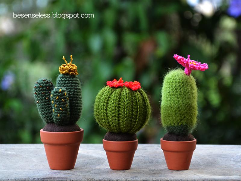 Handcraft World: Amigurumi cactus #5