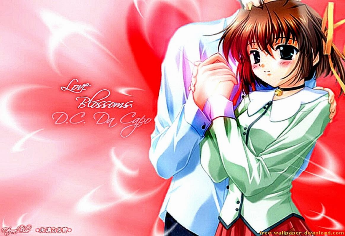 Anime Girl Valentines Day Hd Wallpapers Desktop Background