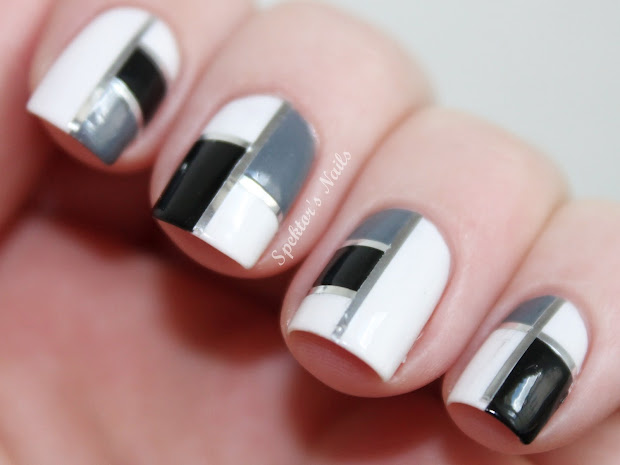 black nail design - pccala