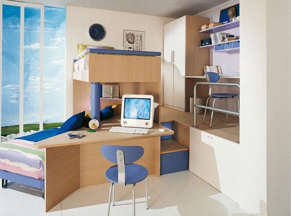 Hogares frescos galer a de dormitorios para ni os por - Dormitorios infantiles para nino ...